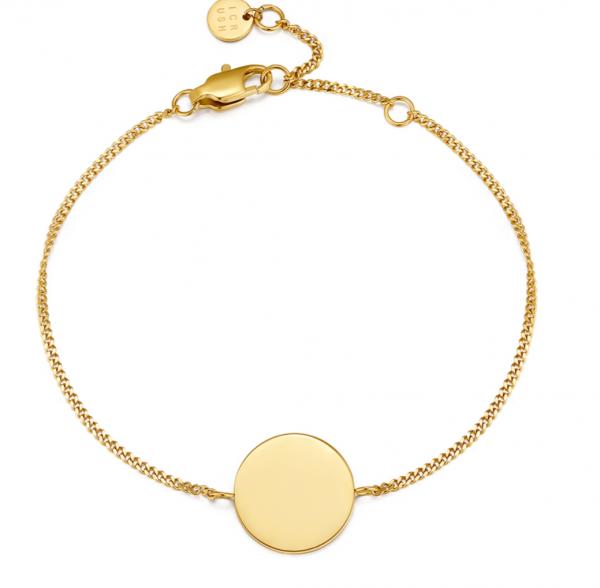 ICRUSH, SIMPLICITY ARMBAND GOLD, makeupcoach.com