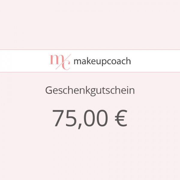 Geschenkgutschein 75 € zum Ausdrucken