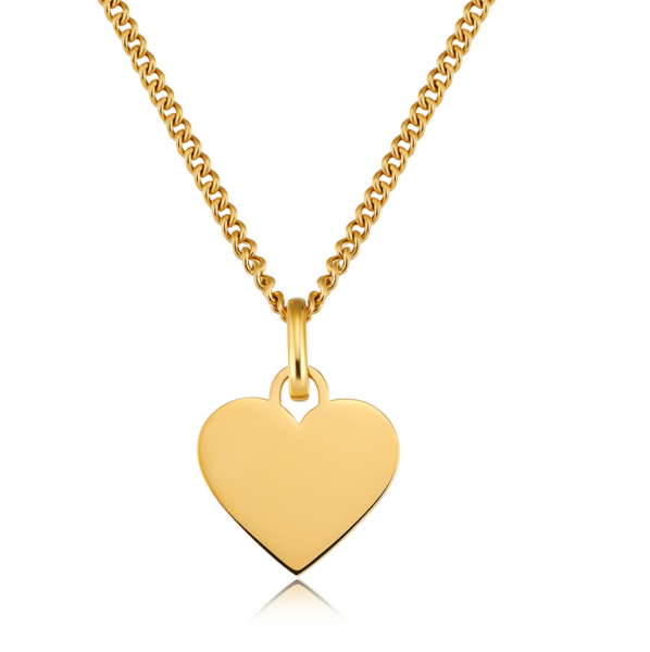 ICRUSH Kette My Heart, Gold, www.makeupcoach.com