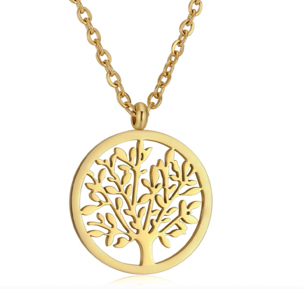 ICRUSH LIFE TREE KETTE GOLD, makeupcoach.com