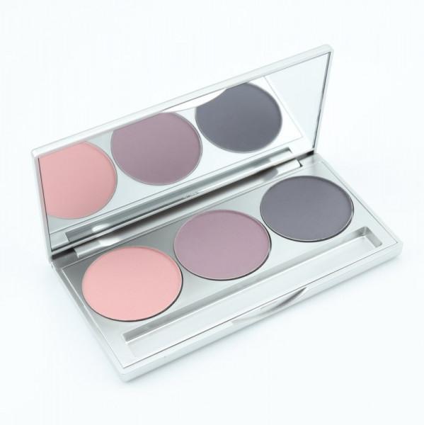 Patell Lidschatten, Smokey, matt, www.makeupcoach.com