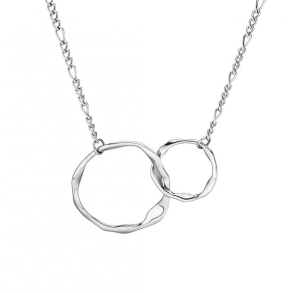verschlungene Ringe, Edelstahl
