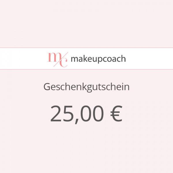 Geschenkgutschein 25 € zum Ausdrucken
