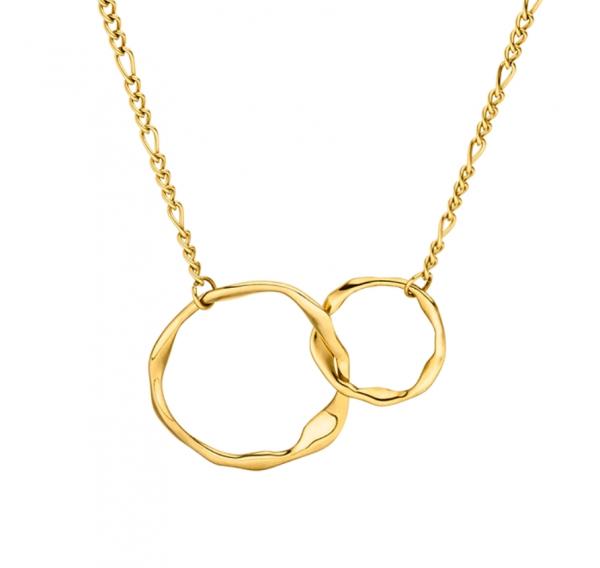 ICRUSH Eternal Bond Gold, verschlungene Ringe, makeupcoach.com