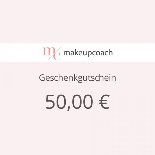 Geschenkgutschein 50€ zum Ausdrucken