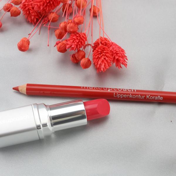 Gerbera, Koralle, makeupcoach.com
