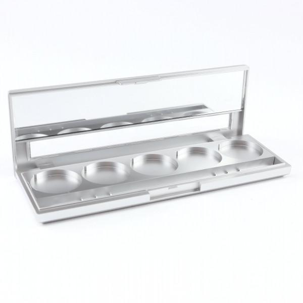 5er Leerpalette für 27mm Lidschatten, maleupcoach.com