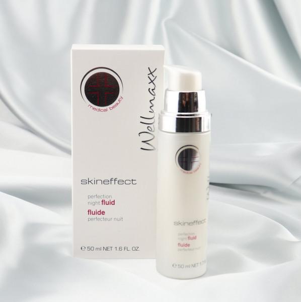 Wellmaxx, Skineffect, perfection night fluid,makeupcoach.com